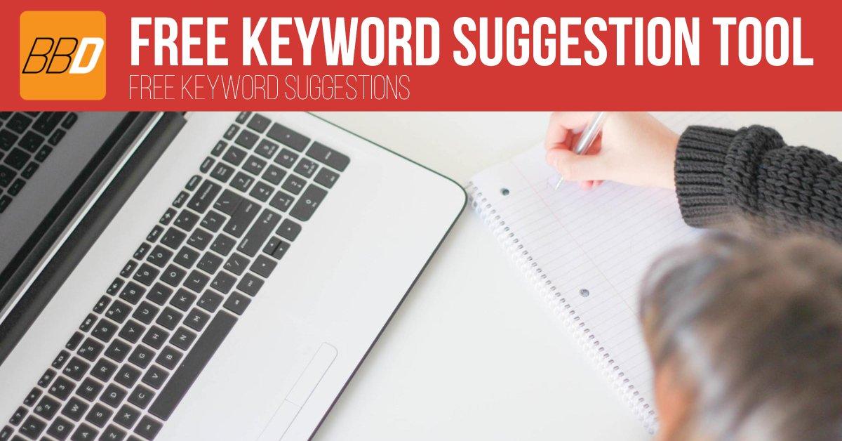 Keywords Suggestion Tool - Beau Brewer Digital