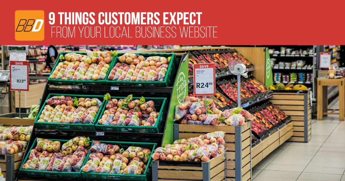 9 Things Customers Expect from your Local Business Website