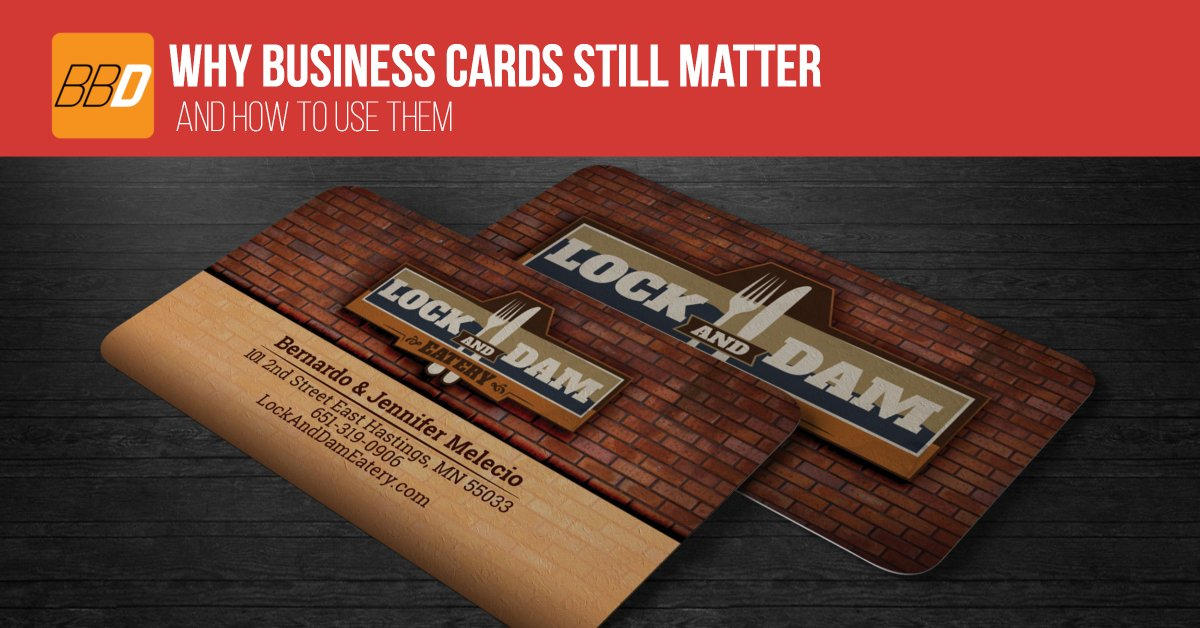 Why Business Cards Matter