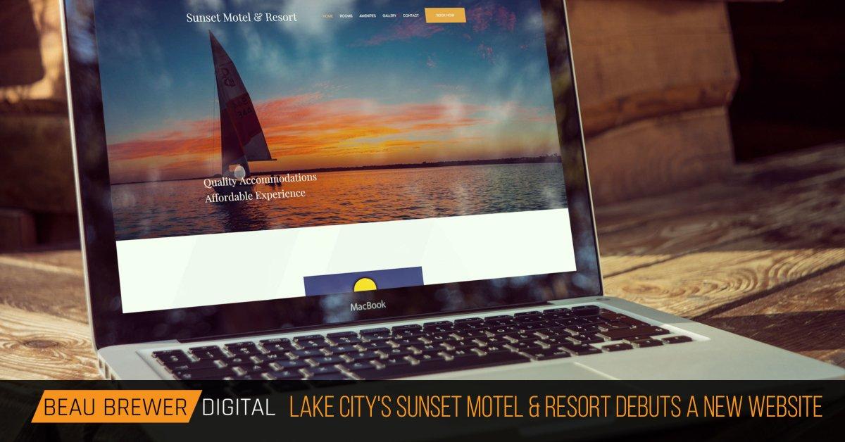 Sunset Motel & Resort Website Debut