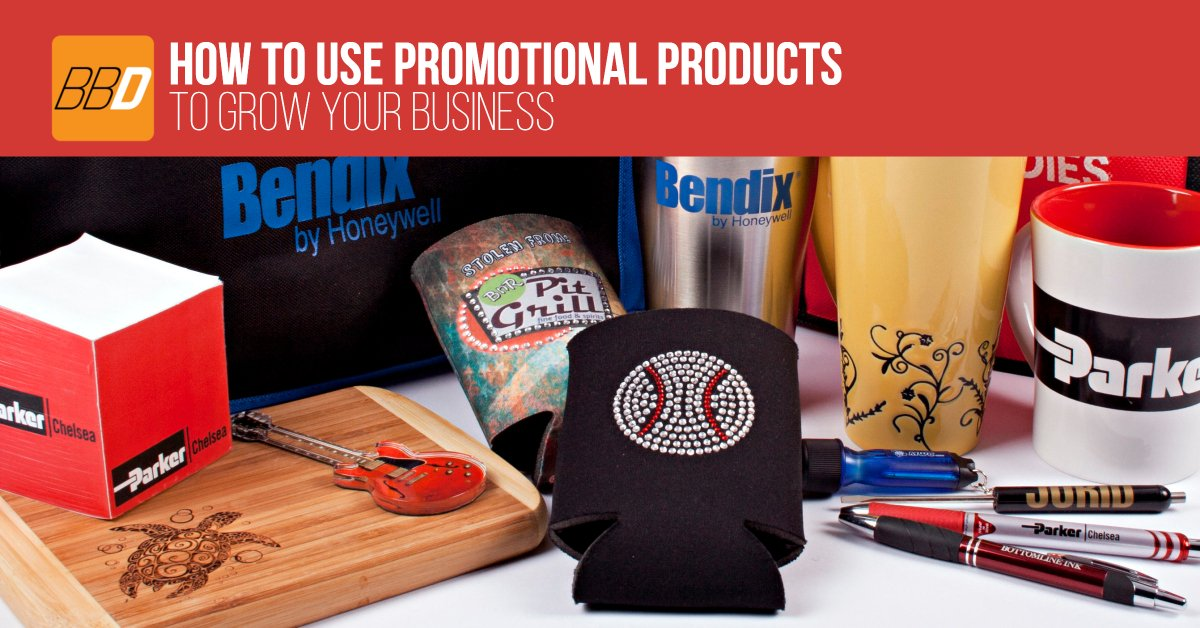 How To Use Promotional Products to Grow Your Business
