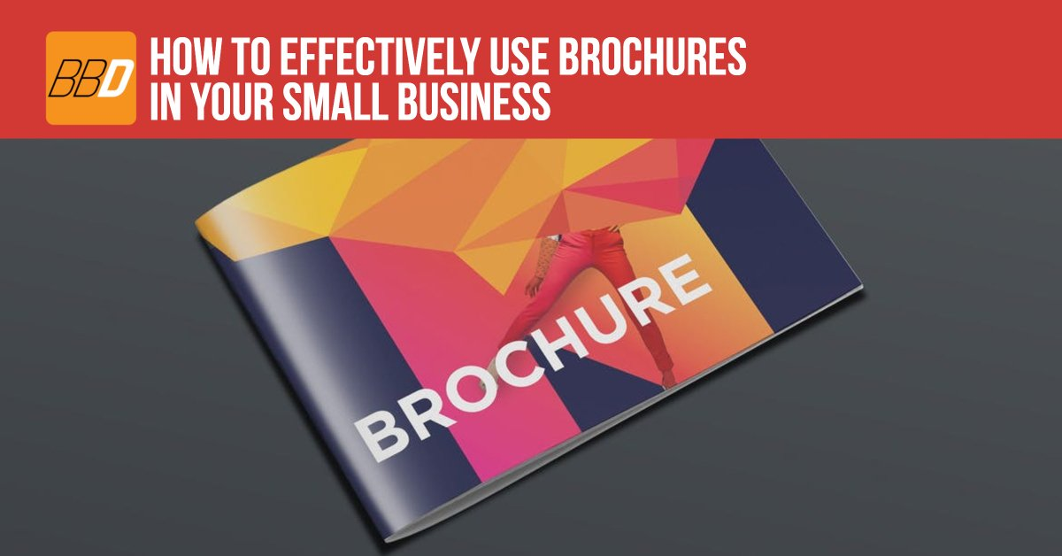 How to Effectively Use Brochures in Your Small Business