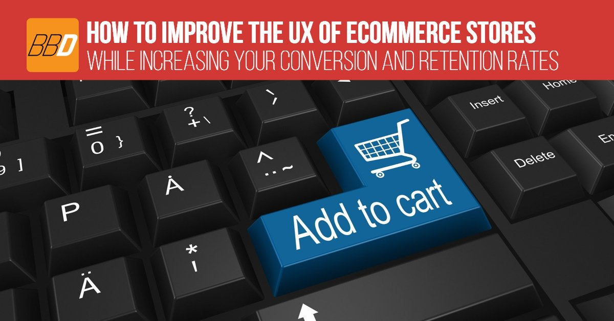 Learn how to improve the UX (user experience) of your eCommerce store, while increasing your conversion and retention rates in the process.