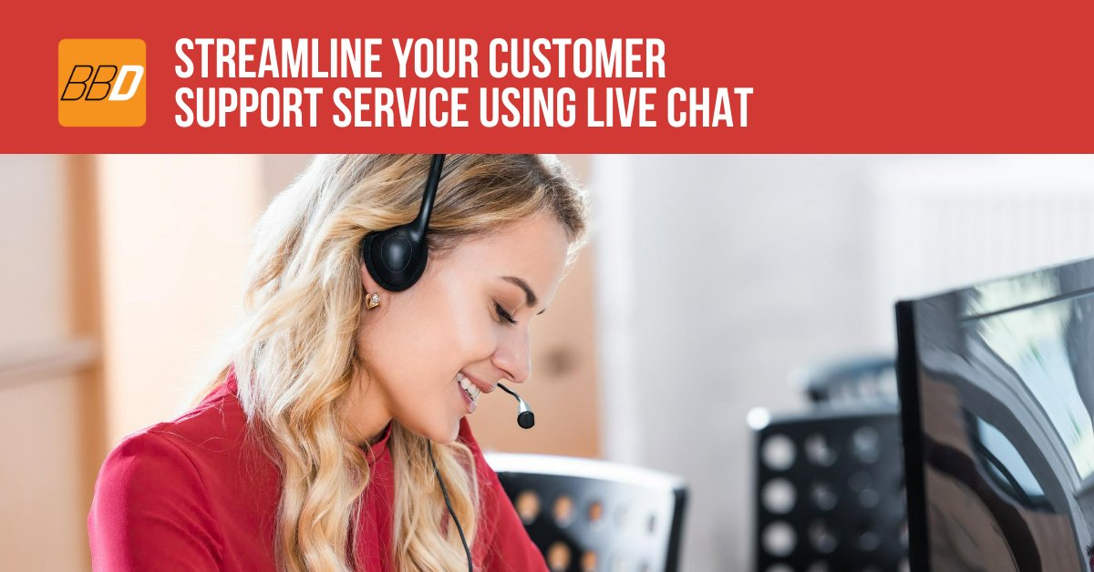 Streamline Your Customer Support Service Using Live Chat