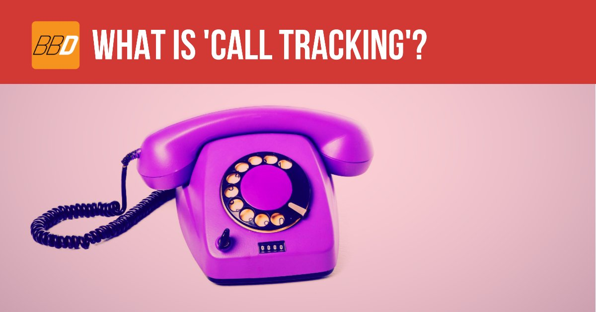 What is 'Call Tracking'?