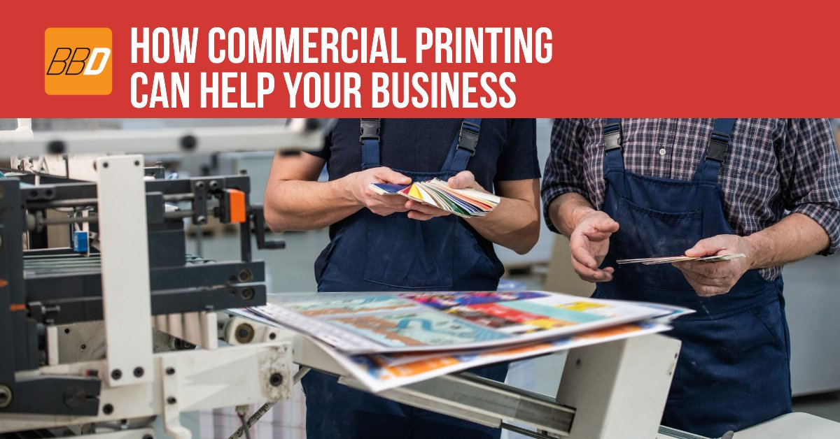 How Commercial Printing Can Help Your Business