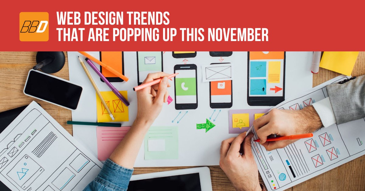 Web Design Trends That Are Popping Up This November