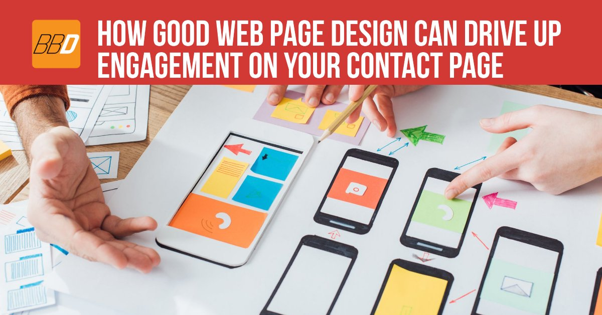 How Good Web Page Design Can Drive Up Engagement On Your Contact Page