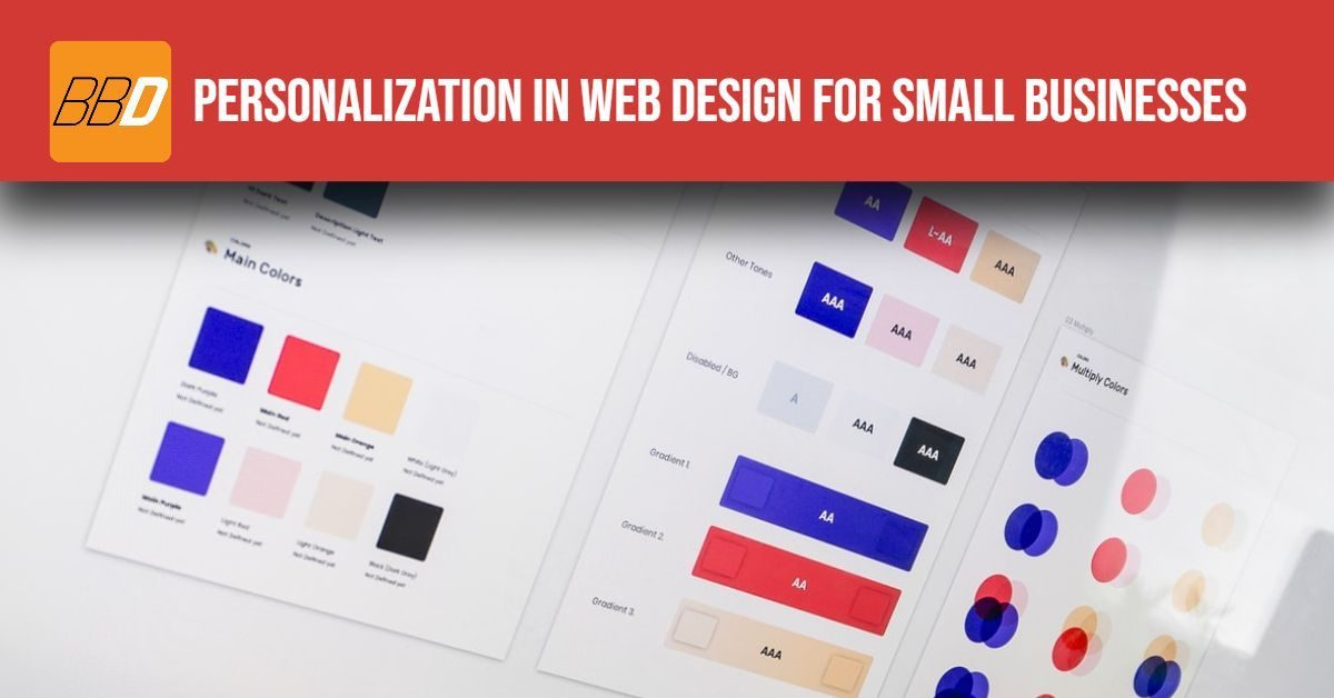 Personalization In Web Design for Small Businesses