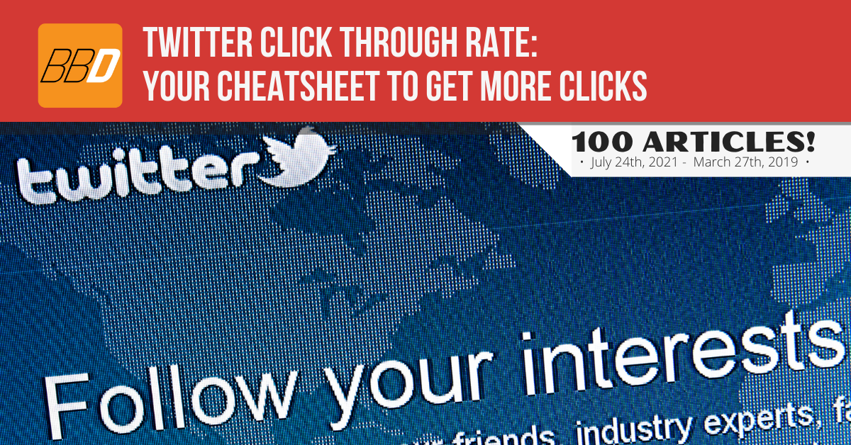 Twitter Click Through Rate