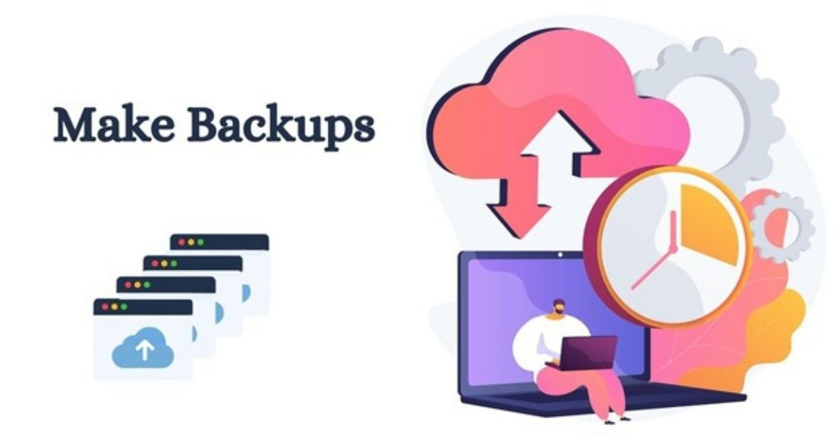 Make Backups