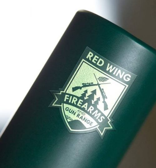 Red Wing Firearms and Gun Range, Logo Design, Red Wing, MN