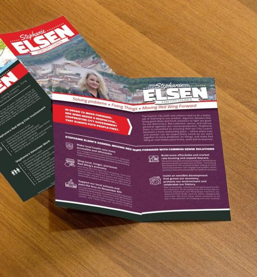 Elsen for City Council, Red Wing, MN